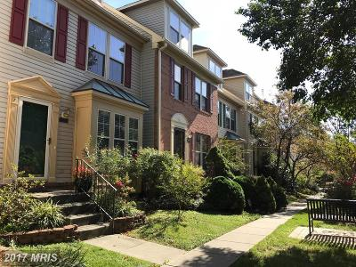Glen Burnie Townhouse For Sale: 6502 Buskin Lane