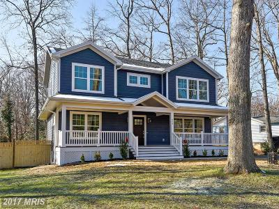 Annapolis Single Family Home For Sale: 294 Edgemere Drive