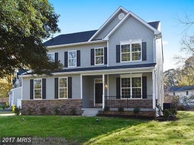 Anne Arundel Single Family Home For Sale: 701 Mount Alban Drive