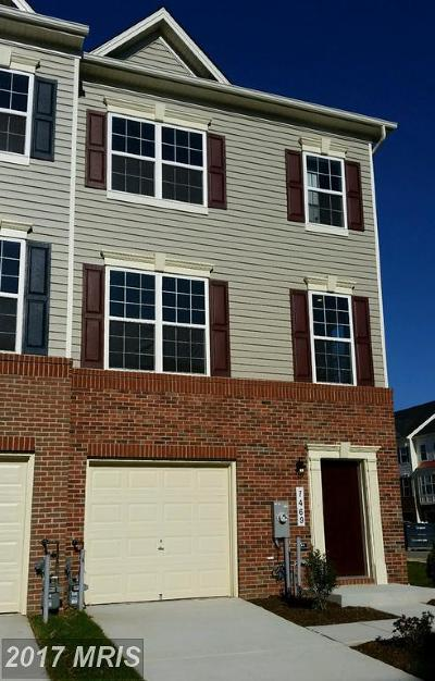 Anne Arundel Townhouse For Sale: 7469 Tanyard Knoll Lane