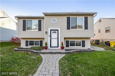 Anne Arundel Single Family Home For Sale: 1015 2nd Street