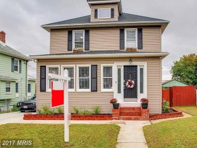 Anne Arundel Single Family Home For Sale: 106 W Hilltop Road
