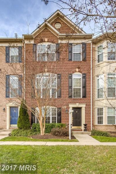 Annapolis Townhouse For Sale: 321 Bulwark Alley