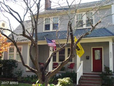 Annapolis Single Family Home For Sale: 532 Burnside Street