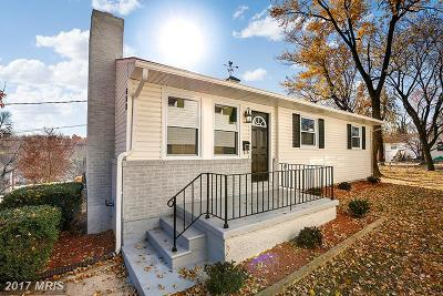 Anne Arundel Single Family Home For Sale: 413 Waverly Avenue
