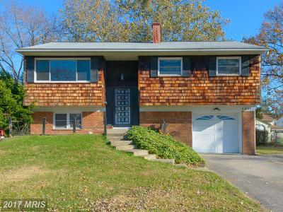 Anne Arundel Single Family Home For Sale: 1231 Aster Drive