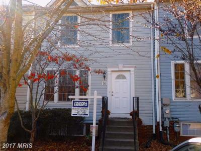 Annapolis Townhouse For Sale: 16 Juliana Circle W