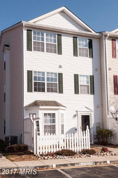 Annapolis Townhouse For Sale: 60 Amberstone Court
