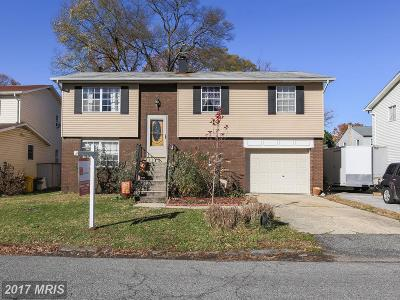 Edgewater MD Single Family Home For Sale: $315,000