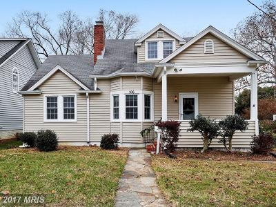 Annapolis Single Family Home For Sale: 106 South Cherry Grove Avenue