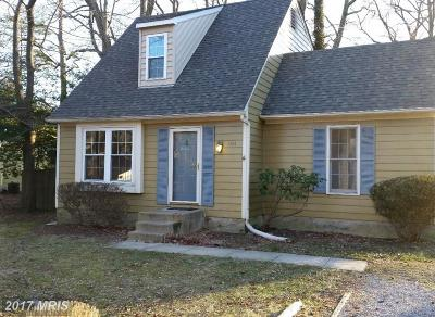 Annapolis Single Family Home For Sale: 101 Great Oak Drive