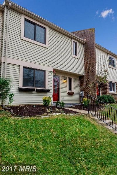 Annapolis Townhouse For Sale: 46 Rockwell Court