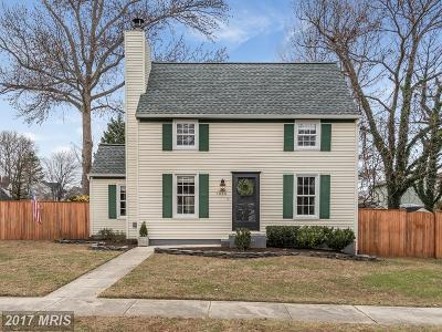 Annapolis Single Family Home For Sale: 1020 Kensington Way