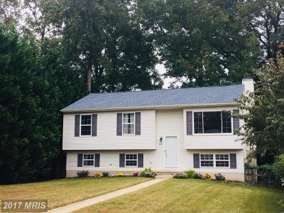 Severn Single Family Home For Sale: 8109 Santa Fe Drive