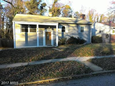 Anne Arundel Single Family Home For Sale: 426 Arbor Drive