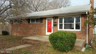 Anne Arundel Single Family Home For Sale: 8481 Main Avenue