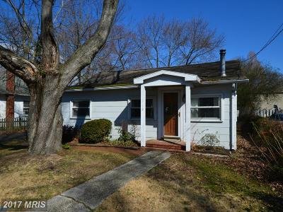 Deale Single Family Home For Sale: 618 Charles Avenue
