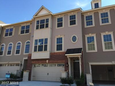 Jessup Townhouse For Sale: 7843 Rappaport Drive