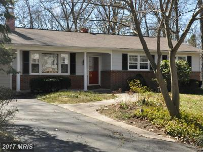 Severna Park Single Family Home For Sale: 689 Wellerburn Avenue