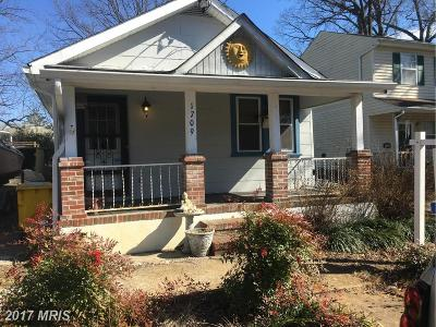 Anne Arundel Single Family Home For Sale: 1709 Millstone Drive