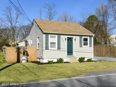 Anne Arundel Single Family Home For Sale: 1718 Marley Avenue