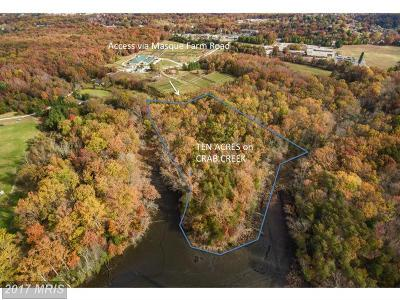 annapolis Residential Lots & Land For Sale: Masque Farm Road