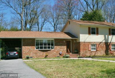 Annapolis Single Family Home For Sale: 158 Woodside Trail