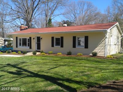 Severna Park Single Family Home For Sale: 595 Center Drive