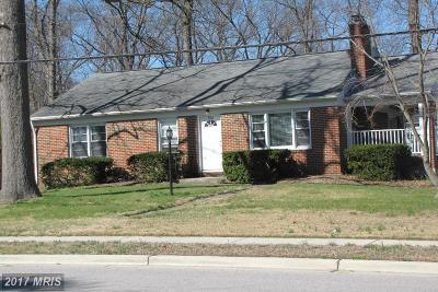 Severn Single Family Home For Sale: 766 Stevenson Road