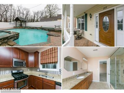 Linthicum Single Family Home For Sale: 203 Hawthorne Road