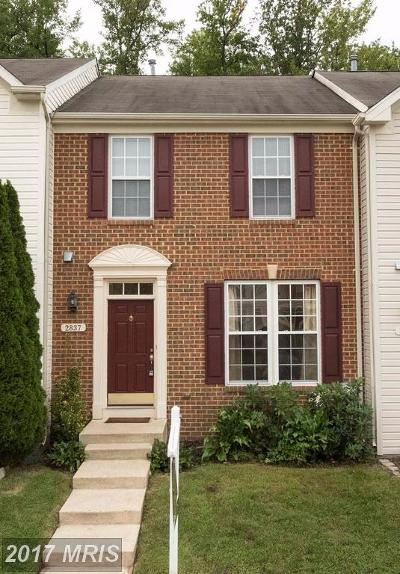 Piney Orchard Townhouse For Sale: 2837 Settlers View Drive
