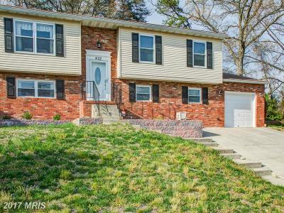 Millersville Single Family Home For Sale: 432 Williamstowne Court