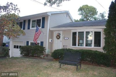 Annapolis Single Family Home For Sale: 13 Wainwright Drive