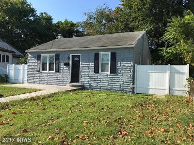 Pasadena Single Family Home For Sale: 8552 Main Avenue
