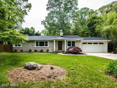 Annapolis Single Family Home For Sale: 414 Hillsmere Drive
