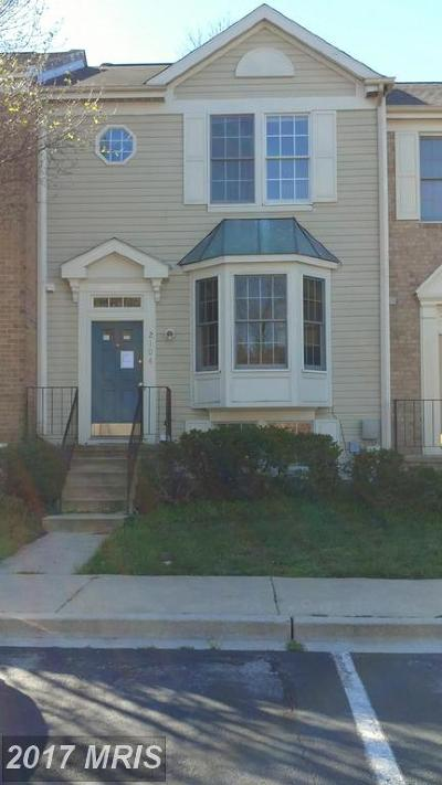 Odenton Townhouse For Sale: 2104 Commissary Circle