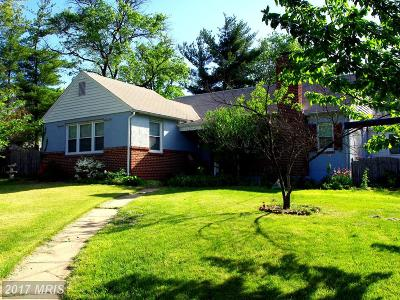 Glen Burnie Single Family Home For Sale: 304 Andover Road