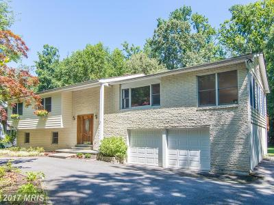 Annapolis Single Family Home For Sale: 1635 Ridout Road