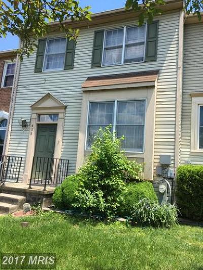 Millersville Townhouse For Sale: 458 Watson Court