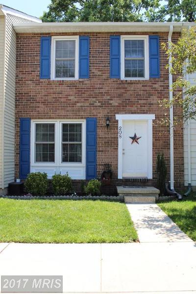 Millersville Townhouse For Sale: 208 Michele Circle