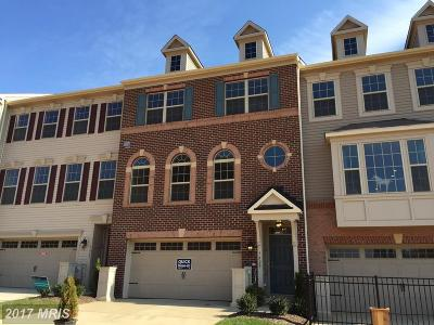 Jessup Townhouse For Sale: 7829 Rappaport Drive