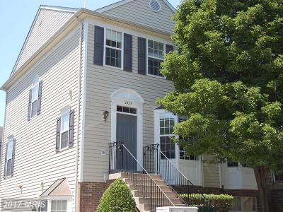 Crofton Townhouse For Sale: 2425 Lizbec Court