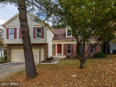 Annapolis Single Family Home For Sale: 220 Autumn Chase Drive
