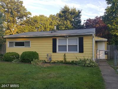 Glen Burnie Single Family Home For Sale: 605 Washington Avenue
