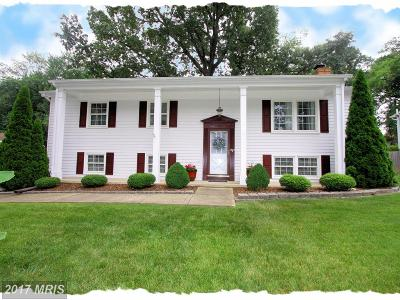 Odenton Single Family Home For Sale: 511 Williamsburg Lane