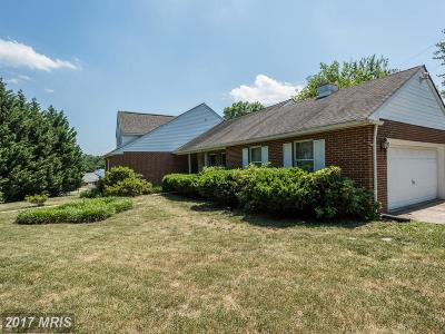 Linthicum Single Family Home For Sale: 6432 Wilben Road