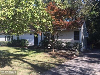 Anne Arundel Single Family Home For Sale: 771 Generals Highway