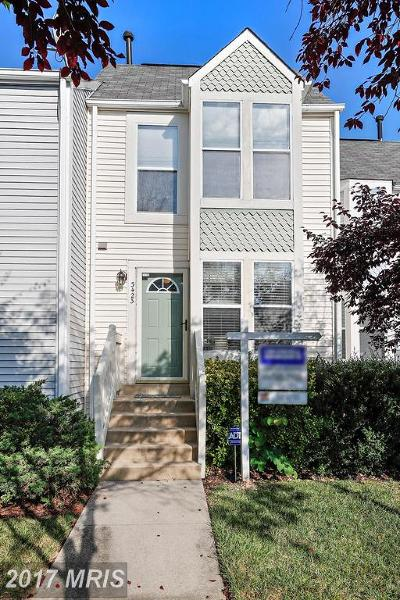 Laurel Townhouse For Sale: 3423 Lindenwood Drive