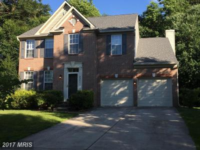 Odenton Single Family Home For Sale: 2341 Crosslanes Way