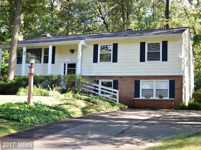 Severna Park Single Family Home For Sale: 35 Whittier Parkway